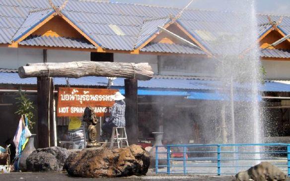 Hotsprings, zwischen Chiang Rai und Chiang Mai