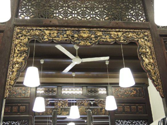 Dekorationen aus einem  alten Handelshaus, Melaka