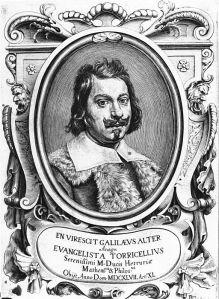 Torricelli erfand das Quecksilber-Barometer